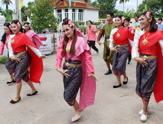 泰国瑞嘉普大学在大学生发展局举行年度教育活动